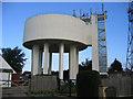 TL4675 : Water tower, Haddenham, Cambs by Rodney Burton
