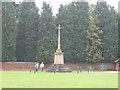 TF6928 : Sandringham War memorial by Stephen Craven