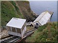 SW7112 : Lizard RNLI lifeboat station, Kilcobben Cove by Jim Champion