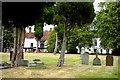 SP7627 : Winslow Churchyard by Stephen Nunney