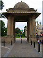 TQ3104 : South Gate, Royal Pavilion by Simon Carey