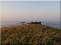 HY6101 : Summit ridge on Island of Copinsay by Mark Crook