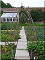 TG1904 : Kitchen garden, Intwood Hall by Katy Walters