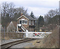 SE2688 : Bedale signal box by Stephen Craven