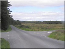 H6766 : Crossroads at Cappagh Mountain by Kenneth  Allen