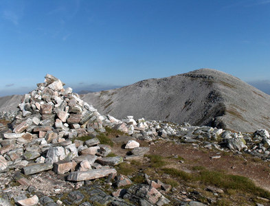 NN2372 : Stob Coire Easain, Grey Corries by Andrew Smith