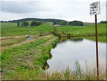 NS4955 : Walton Dam by Iain Thompson