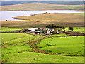 NS5449 : Greenfield Farm from Ballageich Hill by Iain Thompson