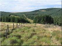 NS7117 : Dennigall Hill to Auchtitench Hill by Chris Wimbush