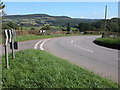 SO4714 : Hairpin bend at Rockfield by Philip Halling