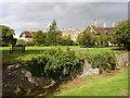 ST5776 : Oatley House Ha-Ha by Linda Bailey