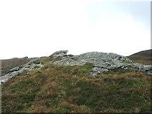 NR6108 : Rocks on Beinn Bhreac. by Steve Partridge