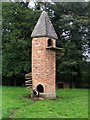 SJ5351 : The Goat Tower, Cholmondeley castle grounds by Peter Craine