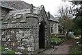SW9942 : Gorran Church, the South Porch by Tony Atkin