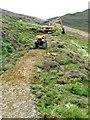 NY2220 : Path restoration below Causey Pike by Nigel Davies