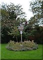 TL4651 : Great Shelford village sign by Martin Pearman