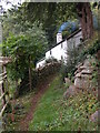 SO5306 : Isolated cottage above Whitebrook by Philip Halling