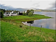 NX5376 : Craignell, Clatteringshaws Loch by Oliver Dixon