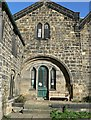 SE2536 : Ancient gatehouse of Kirkstall Abbey by Rich Tea