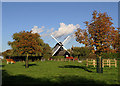 TL3158 : Bourn Windmill by Richard Thomas
