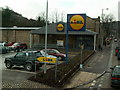 SD9324 : Lidl supermarket, Halifax Road, Todmorden by Phil Champion