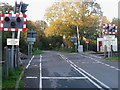 TM2099 : Level crossing at Newton Flotman by Jon Welch