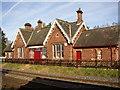 NY6624 : Former railway station, Long Marton by Humphrey Bolton