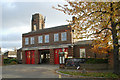 TQ2192 : Mill Hill fire station by Kevin Hale