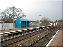 ST1477 : Waun Gron Park Station by John Thorn