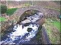 NR6740 : The Old Packhorse Bridge over Clachaig Burn. by Ken Jones