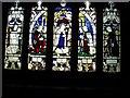 SJ5882 : Window commemorating Lewis Carroll, All Saints, Daresbury by Rich Tea