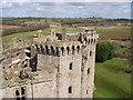 SO4108 : Raglan Castle by Debbie Wingfield