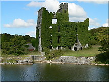 M2827 : Menlough Castle by Aiden Clarke