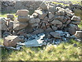 NY1111 : Aircraft Wreckage ,Bleaberry Gill by Michael Graham