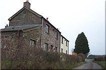 ST4397 : Cottages near Goytre Farm by Jonathan Billinger
