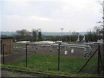 SP8694 : Transco gas grid station by Tim Heaton