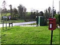 H4451 : Postbox at Murley Crossroads by Kenneth  Allen