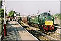 SD7916 : Train for Bury by Roger Cornfoot