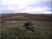 NY5305 : Cairn On Robin Hood by Michael Graham
