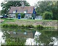 TL4785 : Old Lock cottage, Welches Dam by Snidge