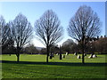 TQ3775 : Millennium Stone Circle, Hilly Fields by Judith Green