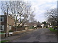 TL0551 : Kingfisher Close at junction with Larkway, Brickhill by Fred Round