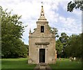 TL1281 : Little Gidding Church by Chris Stafford