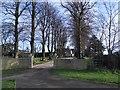 SP9264 : Irchester Grange House Entrance by Nigel Stickells