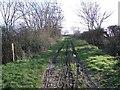 SP9463 : Byway to Wymington by Nigel Stickells