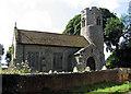 TG1534 : St Peter, Matlaske, Norfolk by John Salmon
