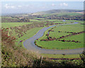 TQ5101 : River Cuckmere south of Litlington by Debbie Milton