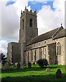 TG3926 : Holy Trinity, Ingham, Norfolk by John Salmon