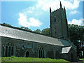 SX3081 : South Petherwin Church by Bernice