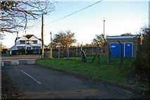 TQ7974 : Pumping Station off Sharnal St by Glyn Baker